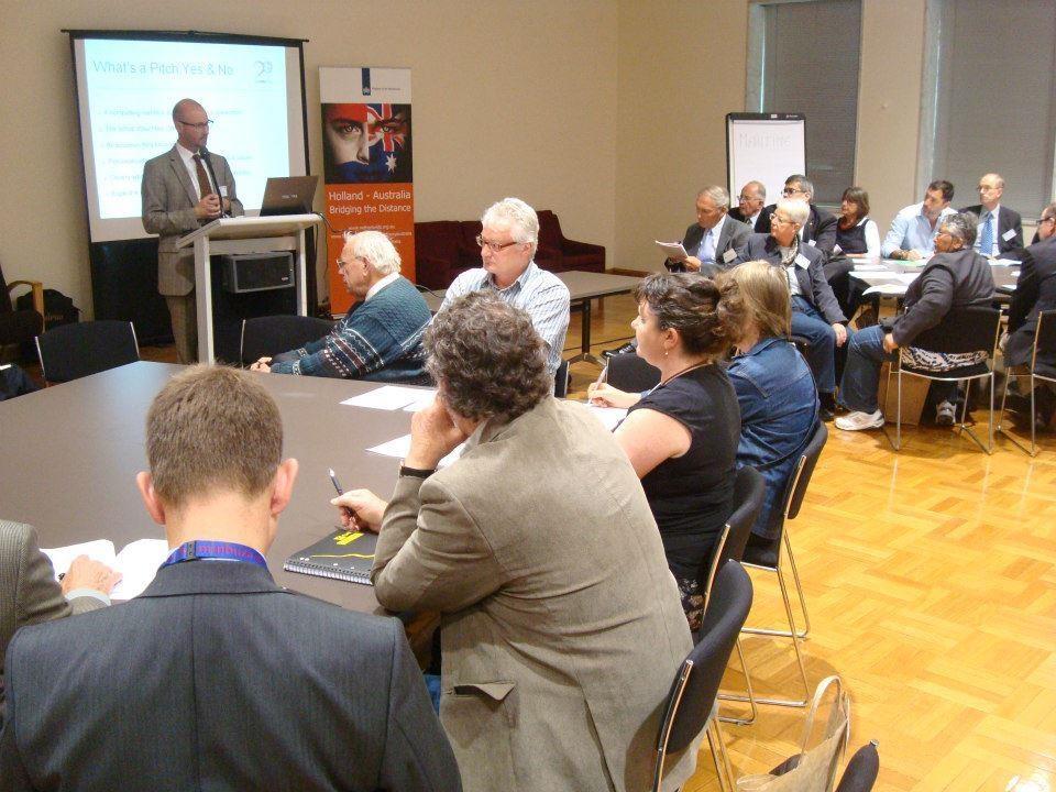 Netherlands Embassy PR workshop